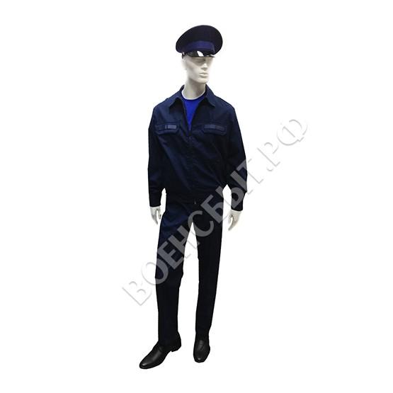 Военторг - Офисная форма МО, синяя