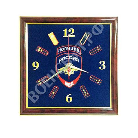Военторг - Часы настенные Полиция России